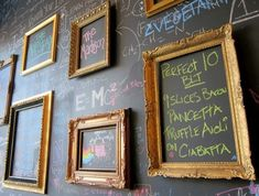 Blackboard Wall by miss d - display near the dachshund print