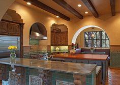 Mediterranean-influenced kitchen