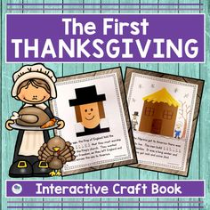 The First Thanksgiving Activities For First Grade
