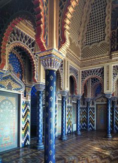 Moorish Room | Moorish Masterpiece in Tuscany » Classical Addiction Beaux Artes Blog