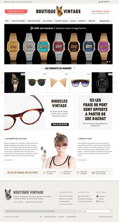 Boutique Vintage, Décembre 2012 | www.boutique-vintage.com