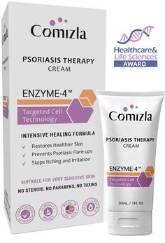 Comizla Psoriasis Cream – Stem Cell Therapy For Psoriasis Psoriasis Cream, Psoriasis Skin, Stem Cell Therapy, Stem Cells, Life Science, Healthy Skin, Sensitive Skin, Healing, Hair