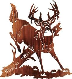 Jumping Buck Deer Metal Wall Art at Cabelas (living room) Metal Walls, Metal Wall Art, Wood Art, Sculpture Metal, Painting Shower, Wood Burning Patterns, Scroll Saw Patterns, Metal Projects, Pyrography