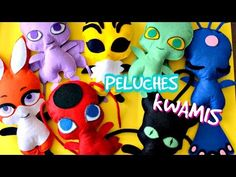 COMO HACER KWAMIS LADYBUG | KWAMIS PLUSH | TUTORIAL | FLOPIRA - YouTube