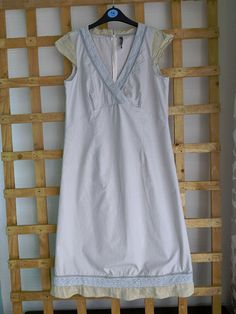 Women Sleeve, Dresses For Sale, Blue Dresses, Summer Outfits, Blue And White, V Neck, Casual, Cotton, Shopping
