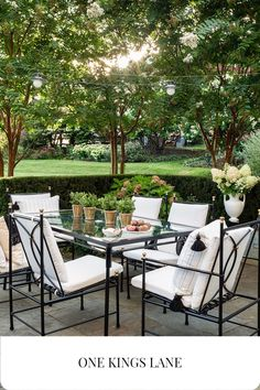 Outdoor Retreat, Outdoor Spaces, Outdoor Living, Small Backyard Patio, Backyard Landscaping, Outdoor Dining Furniture, New England Homes, Yard Design, Pool Houses