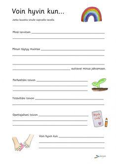 Diy Finger Knitting, Self Help, Teaching, Education, Feelings, Elsa, Bullet Journal, Writing, School