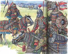 Turcos-Mongols 13th/14th c. - art by M. Gorelik