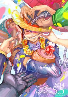Happy Birthday Monkey D. Luffy!  May 5th
