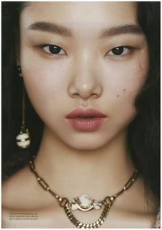 Yoon Young Bae by Yeong Jun Kim///Dazed & Confused Korea December 2018 Foto Portrait, Portrait Photography, French Skincare, Face Study, Dazed And Confused, Flower Girl Hairstyles, Glowy Makeup, Model Face, Human Art