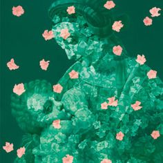2010-2011 FLOATING FLORAS SERIES, Feng Zheng Jie (b1968, Sichuan Province, China; based in South Korea)