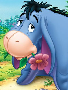 Eeyore is one of my favorite characters. <3