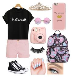 """"""""""" by nikkisfashion273 on Polyvore featuring Vera Bradley, Current/Elliott, Converse, Casetify, Fujifilm, BillyTheTree and ZeroUV"""