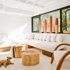 Дерево в интерьере: аксессуары и мебель из пней   Фото Dining Bench, Couch, Furniture, Home Decor, Youtube, Homemade Home Decor, Sofa, Table Bench, Couches