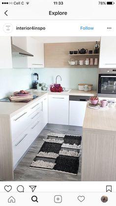 Oberhaching, Doppelhaushälfte, chice Küche mit Kochinsel   Ideen ...