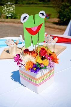 "Photo 12 of 45: Rainbow /Muppets / Birthday ""Muppet Show Birthday"" | Catch My Party"