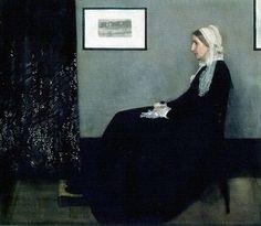 """The Art: James Mcneil Whistler, """"Whistler's Mother"""""""