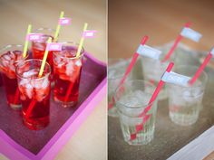Video tutorial on making these fun glitter trays for your wedding or party.