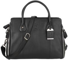 349€ - knights & roses Tasche Magdalena in schwarz. www.knightsandroses.com