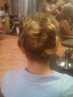 Hair done by Ashley Von Eye