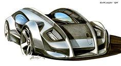 concept car sketch - Buscar con Google