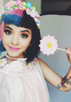 melanie martinez the beautiful crybaby Melanie Martinez Style, Melanie Martinez Makeup, Melanie Martinez Quotes, Indie Music, Paramore, Cry Baby Album, She Song, Crazy People, Her Music