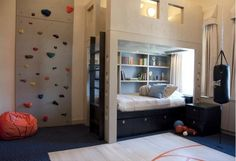 Basketball bedrooms