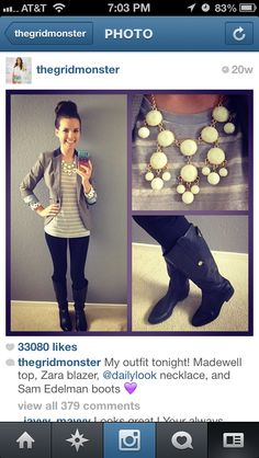 Love Missglamorazzi simple yet cute outfit