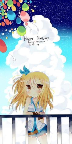 Lucy Heartfilia. (I don't care if it's not 2014 or her birthday ok it's a pretty drawing #getoffme