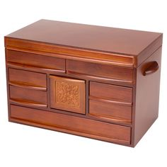Empress Jewelry Box in Walnut