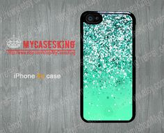 Silver Sparkle iPhone 5c case Sparkle iPhone5c case Sparkle Gradient iphone 5c case iPhone5c Hard/Rubber case-Choose Your Favourite Color by MyCasesKing, $6.99
