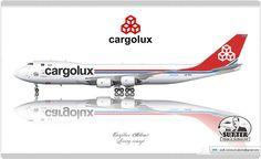 Cargolux Airlines / Boeing 747-8F / Livery concept
