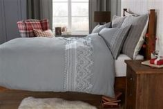 Fairisle Embroidery Bed Set from Next