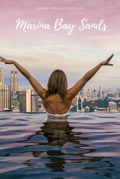 Marina Bay Sands - Das spektakulärste Hotel in Singapur Marina Bay Sands, Outdoor Decor, Singapore, Asia