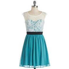 Shortcake Story Dress in Teal ❤ liked on Polyvore featuring dresses, sheer overlay dress, ruffle dress, lace cap sleeve dress, lace cocktail dress and teal blue dresses