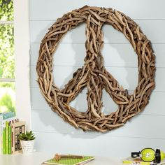 Driftwood Wreaths Wanted | Driftwood Peace Sign