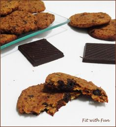 Cookie Biscuits Vegan & Gluten Free Chickpeas Peanut Butter Chocolate Recipe Ricetta