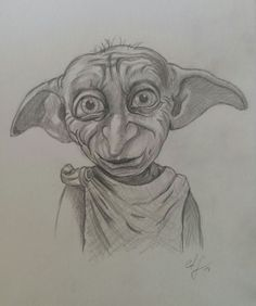 Dobby gezeichnet nach vorlage lonely in 2019 гарри поттер, искусство, рисун Dobby Harry Potter, Fanart Harry Potter, Cover Harry Potter, Harry Potter Friends, Harry Potter Drawings, Harry Potter Decor, Harry Potter Gifts, Harry Potter Characters, Art Drawings Sketches