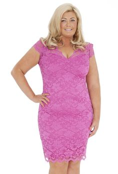 Gemma Collins Lace Midi Dress, very.co.uk Plus size beauty! xoxo ...