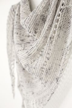 Ravelry: Asterism shawl knitting pattern from Woolenberry.