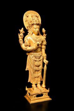 Balinese Gold Figure of Vishnu - DA.689 Origin: Indonesia Circa: 900 AD to 1300 AD