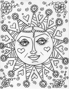 "iColor ""The Moon & Stars"" Heart Sun"