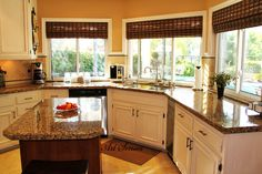 Кухня с панорамни прозорци   Art senses – артистични идеи за интериор и градина