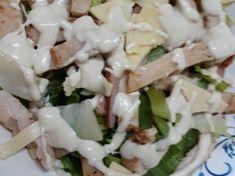 Δροσερή και θρεπτική σαλάτα του Καίσαρα!! συνταγή από Annita Rapata - Cookpad Feta, Dairy, Cheese