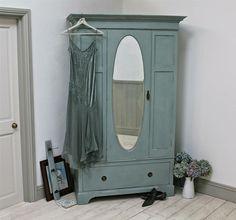 ▷1001+ idées pour relooker une armoire ancienne | chambre vintage ... - Comment Peindre Une Armoire Ancienne