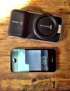 Black Magic Pocket Camera vs. iPhone