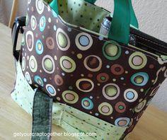 Purse Organizer Sewing Tutorial by GetYourCrapTogether