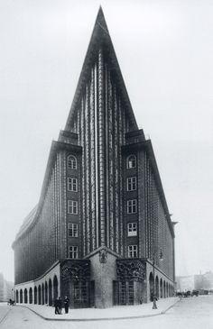 Fritz Hoger, Chile House, Hamburg, (1922-1924)