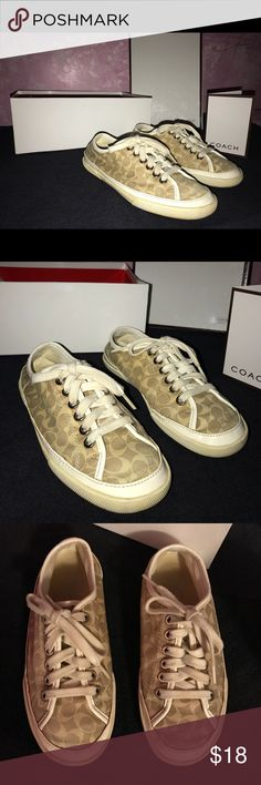 Coach shoes size 5 Used Coach shoes size 5 Coach Shoes Sneakers