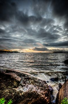 Sunset over Abitibi Lake Clouds, Water, Outdoor, Travel, Gripe Water, Outdoors, Outdoor Games, The Great Outdoors, Cloud
